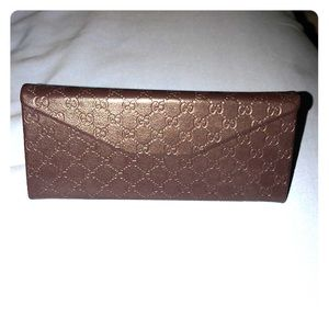 Gucci sunglass case only